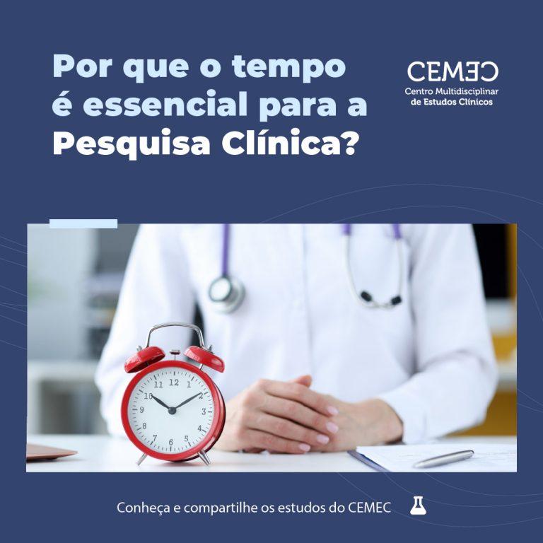 CEMEC - o tempo é essencial