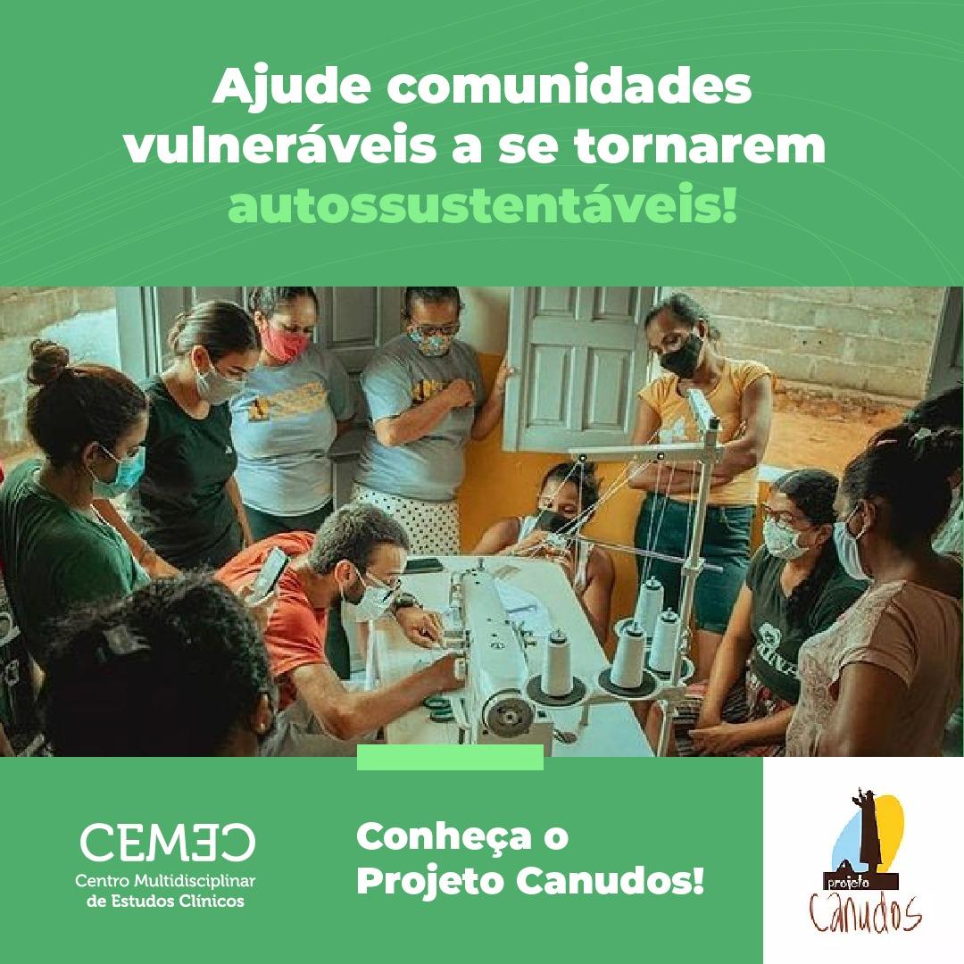 CEMEC - conheça o projeto Canudos
